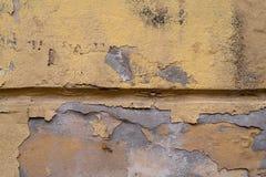 被毁坏的装饰膏药的纹理 r 库存图片