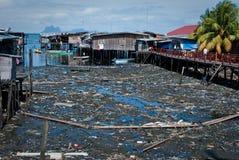 被污染的南部的城镇 免版税图库摄影