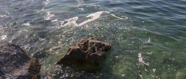 被污染的海运 图库摄影