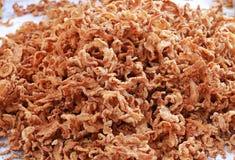 被油炸的猪肉皮肤快餐,泰国样式食物 图库摄影