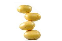 被洗涤的土豆塔 免版税库存图片
