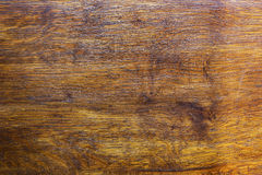 被涂清漆的橡木的表面 免版税库存照片