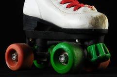 被消耗的溜冰鞋 免版税库存图片