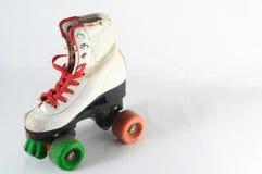 被消耗的溜冰鞋 免版税图库摄影