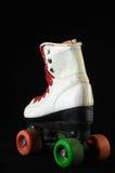 被消耗的溜冰鞋 免版税库存照片