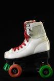 被消耗的溜冰鞋 库存图片