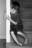 被滥用的儿童概念 免版税库存照片
