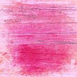 被漂白的,流行粉红,困厄的木板 库存照片
