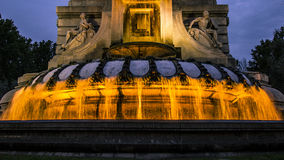 被点燃的喷泉 图库摄影