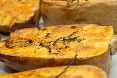 被烘烤的南瓜 免版税图库摄影