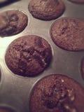被烘烤的巧克力曲奇饼 库存图片