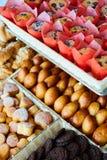 被烘烤的物品、面包店、照片象基本的食物的,生气勃勃和货物种类品种  库存图片