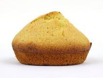 被烘烤的玉米家松饼 免版税库存图片