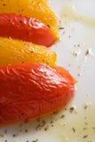 被烘烤的甜椒 库存图片