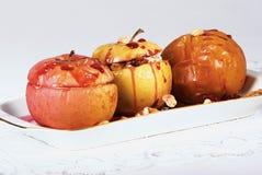 被烘烤的苹果 免版税图库摄影