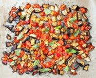 被烘烤的蔬菜 免版税图库摄影