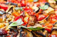 被烘烤的蔬菜 免版税库存照片