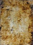 被烘烤的铁锈纹理 免版税库存照片