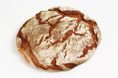 被烘烤的面包家大面包 库存图片