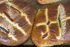 被烘烤的面包新近地墨西哥甜点 库存照片