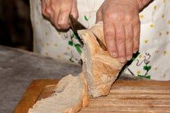 被烘烤的面包新近地大面包多士 免版税图库摄影