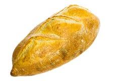 被烘烤的面包新近地查出的大面包白色 免版税库存照片