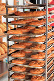 被烘烤的面包新近地 库存图片