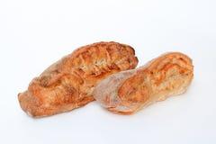 被烘烤的面包 免版税库存图片