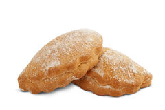 被烘烤的饼干 免版税库存图片