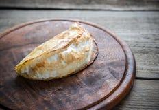 被烘烤的绉纱用蛋白甜饼 库存图片