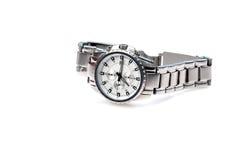 被烙记的手表腕子 免版税库存图片