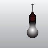 被烧光的电灯泡 皇族释放例证