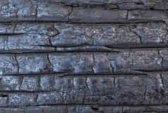 被烧焦的木头背景  库存照片