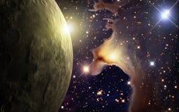 被烧焦的行星 库存照片