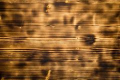 被烧的木纹理 免版税库存照片