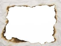 被烧的框架 免版税库存照片
