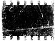 被烧的脏的纸张 免版税库存图片
