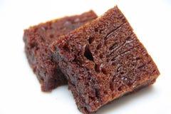 被烧的蛋糕糖 免版税图库摄影