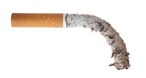 被烧的香烟 免版税库存图片