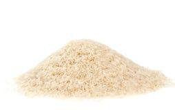 被煮半熟的米 免版税库存图片
