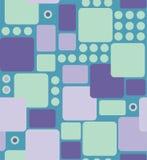 从被环绕的长方形的抽象几何 免版税库存图片