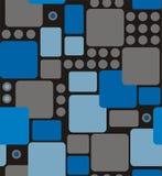 从被环绕的长方形的抽象几何 图库摄影