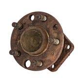 被用完的插孔轮子和轴承 免版税库存照片