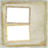 被疏远的框架照片 皇族释放例证