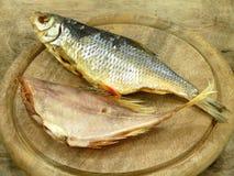 被盐溶的鱼 库存照片