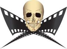 被盗版的电影 免版税图库摄影