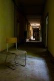被破坏的医院老 图库摄影