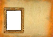 被破坏的框架凹陷 免版税图库摄影