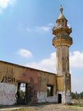 被破坏的被放弃的清真寺 免版税库存照片