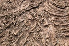 被硬化的岩浆 图库摄影